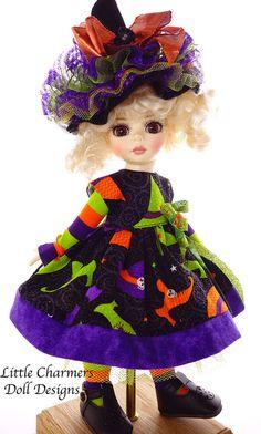 """Dress for Tonner Patsy, 10"""", 11"""" bjd. Little Charmers Doll Design in   eBay"""