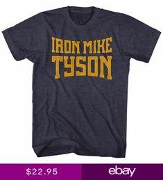 dc80da1ea2640 Mike Tyson Iron Mike Tyson Licensed Adult T Shirt