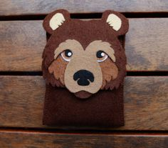 Bear iPhone felt Case Cell Phone Cover iPhone by LayonStore