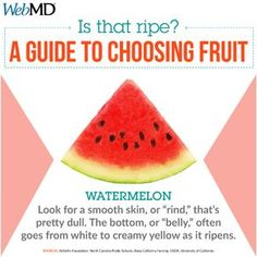 Did you know when this summertime favorite is ripe, it has plenty of an immune-boosting antioxidant called glutathione? 🍉 Learn how to choose a ripe watermelon for your next picnic. Good To Know, Did You Know, Watermelon Nutrition Facts, Arthritis Foundation, Smooth Skin, Public School, Collagen, Summertime, Picnic
