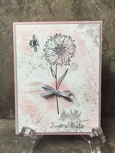 Stamp with Anna: Stampin Up, Touches of Texture, Collage Stamping