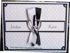 Congratulations Jordan & Katie by vegasgem - Cards and Paper Crafts at Splitcoaststampers