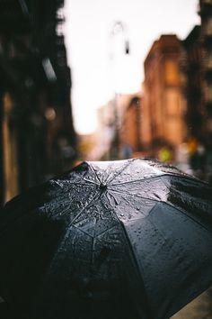 Peaceful rainy days