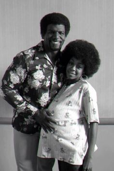 Terry Crews & Tichina Arnold as their characters on Everybody Hates Chris