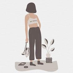 Emma Philip designer - Illustration for @recipesforselflove #2 💕