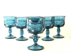 Kings Crown 6pc. Wine Glass Set  Colonial by YourTreasureHunter, $42.00