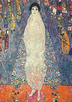 Gustav Klimt >> Portrait of Elisabeth Bachofen-Echt (1914)