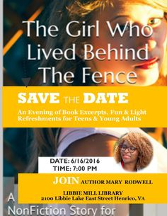 Let's chat teens and young adults.  Join me for real issues and solutions as we discuss my book The Girl Who Lived Behind The Fence.  From books to bullies find out what they have in common.  #teens #youngadult #meetandgreet