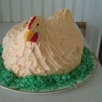 chicken shaped cakes   Chicken Shaped Cake and Other Creative Ideas