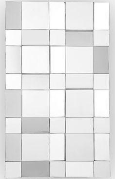CR Mirrors Angled Panel Wall Art Mirror CM-1931-P $960.00