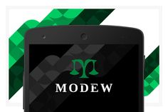 Modew EPS vector logo design by FineOrigins on @creativemarket