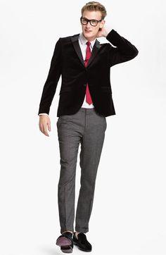 Topman Blazer, Dress Shirt & Skinny Fit Trousers | Nordstrom