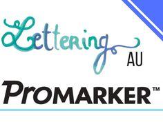 Tuto complet avec pleins de conseils pour apprendre à faire du lettering au promarker. Lettering, Markers, Inspiration, Brush Pen, Sharpies, Biblical Inspiration, Marker, Letters, Texting