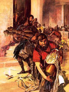 Chaldeans destroy the Temple, Nineva