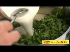 Chłodnik ze szpinakiem / Cold soup with spinach  www.winiary.pl