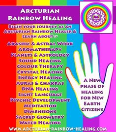 Activations - Arcturian Rainbow Healing