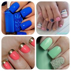 I need that blue and coral w/gold :))