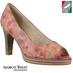 Marco Tozzi női bőr cipő 2-29300-28 507 korál kombi 04734c6e83
