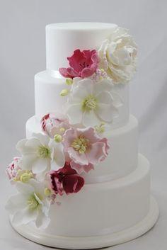Springtime Wedding by Coco Jo(10/15/2012)  View cake details here: http://cakesdecor.com/cakes/32389