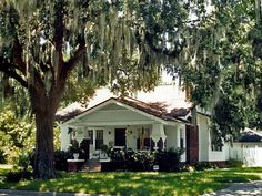 quintessential example of old Florida Home with a broad Shade-Porch ... from the days of no air-conditioning.  St. Augustine, Florida.  (image credit: Steven Martin)
