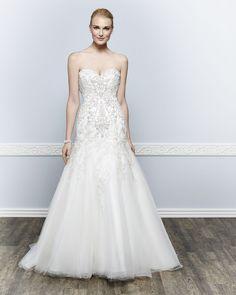 Kenneth Winston Couture Style 1654 #weddingdress #bridal