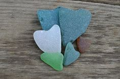 Heart Shaped Sea Glass Multicolored Sea Glass Mix for Jewelry Craft Supply Genuine Sea Glass Beach Glass DIY Craft Supplies Shore Heart Gift
