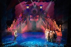 awesome stage design for Peter Pan