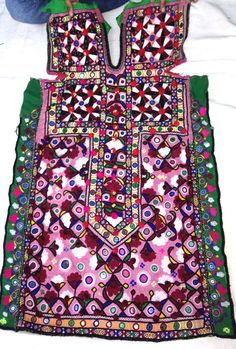 Gypsy Banjara Dress vintage tribal banjara by VishalHandicrafts, $89.49