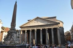 Discover the Pantheon, the Temple of Hadrian and Santa Maria in Via Lata, three of Rome's most remarkable ancient buildings, on this guided walking tour. Stroll among the centuries-old Corinthian columns of the Pantheon, marveling at its breat Rome Travel, Italy Travel, One Day In Rome, Rome Attractions, Italy Tourism, Italy Pictures, Ancient Buildings, Italy Holidays, Historical Landmarks