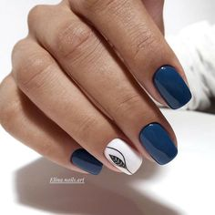 nail art designs with glitter ~ nail art designs . nail art designs for spring . nail art designs for winter . nail art designs with glitter . nail art designs with rhinestones Nagellack Design, Nagellack Trends, Latest Nail Designs, Nail Art Designs, Nails Design, Gel Manicure Designs, Short Nail Designs, Stylish Nails, Trendy Nails