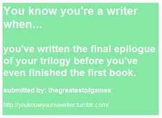 That doesn t mean you re a writer , but still 😂😂😂 true