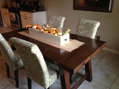 Pottery Barn benchwright farmhouse dining table | Do It Yourself Home Projects…