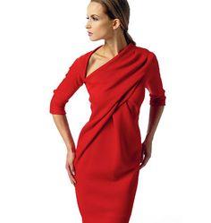 ea0bd52a1c3a Выкройка Vogue — Платье с драпировкой - V1341