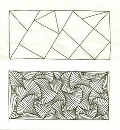 Paradox es un Zentangle oficial de Rick Thomas, Zentangle Fundador.  Ilustrado por Margaret Bremmer CZT con un tutorial Paradox EXCELENTE y algo más que muestra hasta dónde puede empujar la paradoja con variaciones!