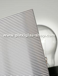 PLEXIGLAS® Textures, sheet, Clear 0A000 R