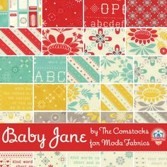 Baby Jane by Eric & Julie Comstock for Moda Fabrics
