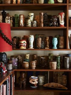 Tiki cup collection - The Design Files