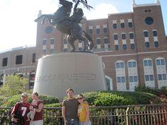 Doak Campbell Stadium, Home of the Florida State Seminoles, Tallahassee, FL