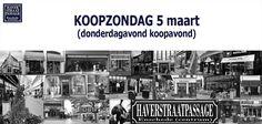 5 maart #KOOPZONDAG in de #Haverstraatpassage. 'Eén van de oudste winkelstraatje van Nederland', met zijn 42 speciaalzaken! #Enschede