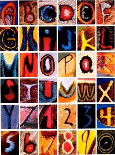 The Alphabet (& Numbers) Of Butterfly And Moth Wings