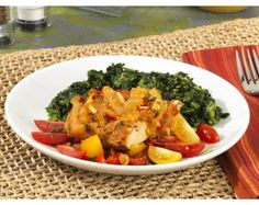 Caribbean Style Vegetable Chicken  #GlutenFree #GFLiving