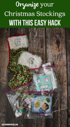 """Organize your Christmas Stockings with This Easy Hack 