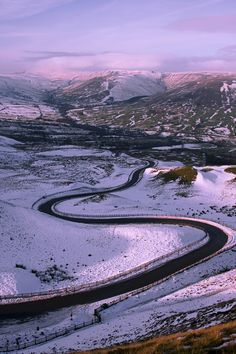 View from the summit of Mam Tor, Peak District | England