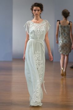Collette Dinnigan Spring 2014: Lovely And Ladylike