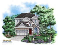 Craftsman House Plan: Narrow Lot California Bungalow Style Floor Plan