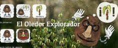 """""""El Oledor explorador"""", cuento interactivo para niños con autismo"""