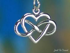 Infinite Love Charm Sterling Silver Forever by jewelbecharmed