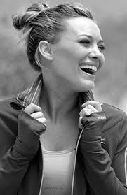 I used to wish I was Hillary Duff and she actually seems to have her life together so that's pretty exciting.