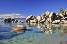 Chimney Beach Cove, East Shore - Lake Tahoe, Nevada