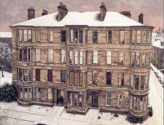 Avril Paton, Windows in the West,1993 (in Kelvingrove Art Gallery, Glasgow)